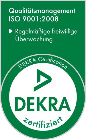 ISO 9001: 2008 Logo - ewaldmoser.de